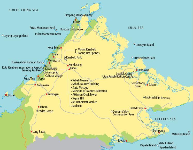 Bermulanya Aku Memblog Sabah Land Below The Wind